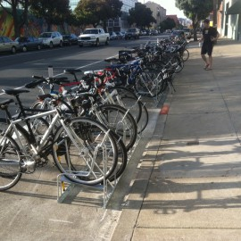 Bike Parking Becoming a Focus in Cities
