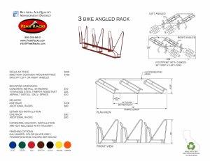 3-Slot Angled Rack BRVP