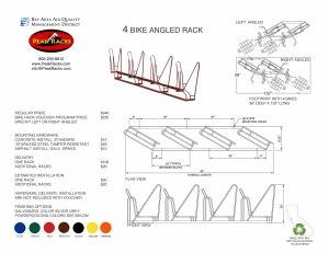 4-Slot Angled Rack BRVP