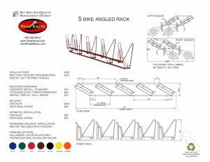 5-Slot Angled Rack BRVP