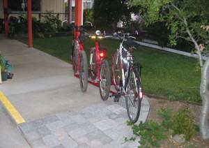 Angled Bike Racks - 3 Slot - 3 Bikes