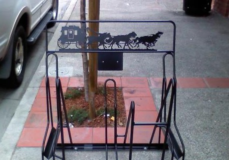 Custom Bike Racks – Arroyo Grande Install