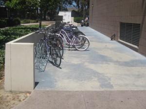 Angled Bike Racks - UCSB
