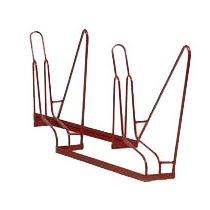 2-Slot Angled Bike Rack