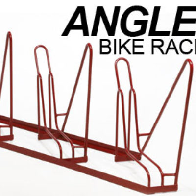 Angled Bike Racks – 3 Slot – Empty Words