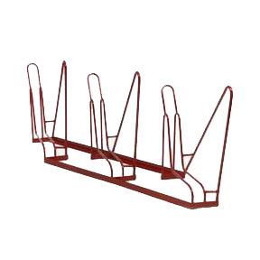 3-Bike Angled Rack