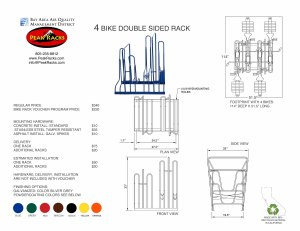 4-Slot Double Sided Rack