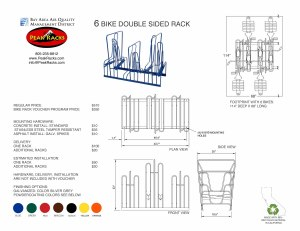 6-Slot Double Sided Rack