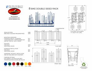 8-Slot Double Sided Rack