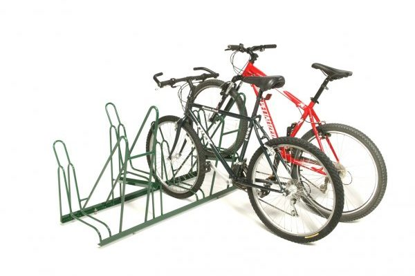 4-Slot Single-Sided Rack – 2-Bikes