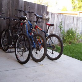 New Home Bicycle Racks Available Now!