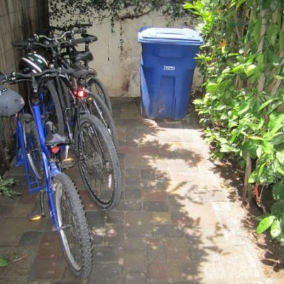 Angled Bike Racks – Garden Space Full