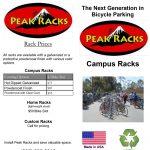 Screenshot - Peak Racks Campus Rack Brochure