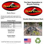 Screenshot - Peak Racks Double-sided Rack Brochure