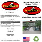 Screenshot - Peak Racks Single-sided Rack Brochure