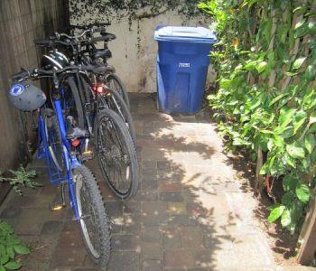 Angled Bike Racks - Garden Space Full